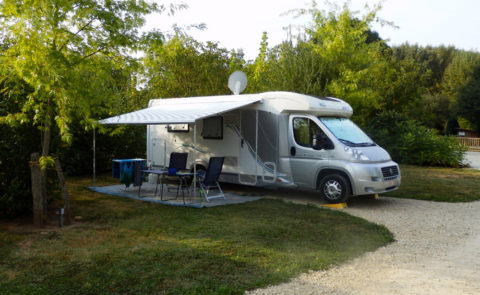 Aire de vidange camping-car