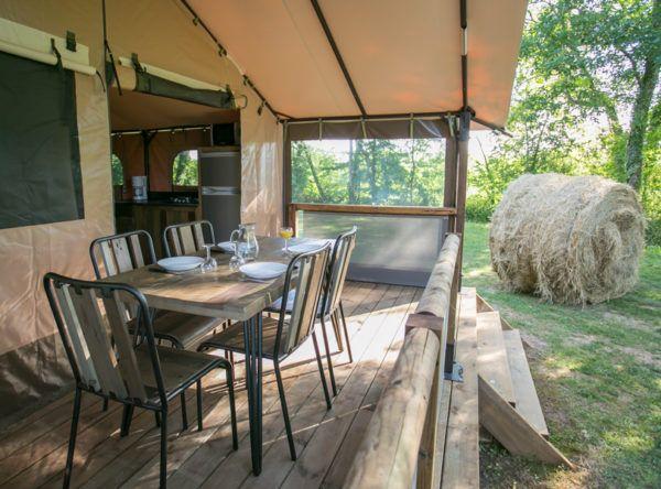 Camping la ferme de Perdigat Dordogne-Périgord noir emplacements locations de charmes au coeur de la nature